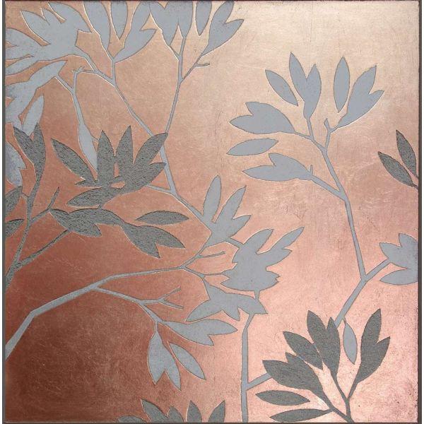 panneau murral prunus cuivre rose by atelier du mur