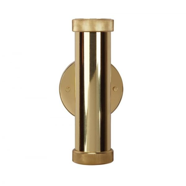 PIPES BRASS WALL LIGHT by Pedret