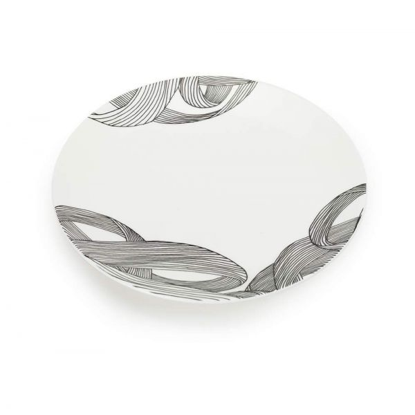 TURBULENCE SALAD PLATE by 1882ltd