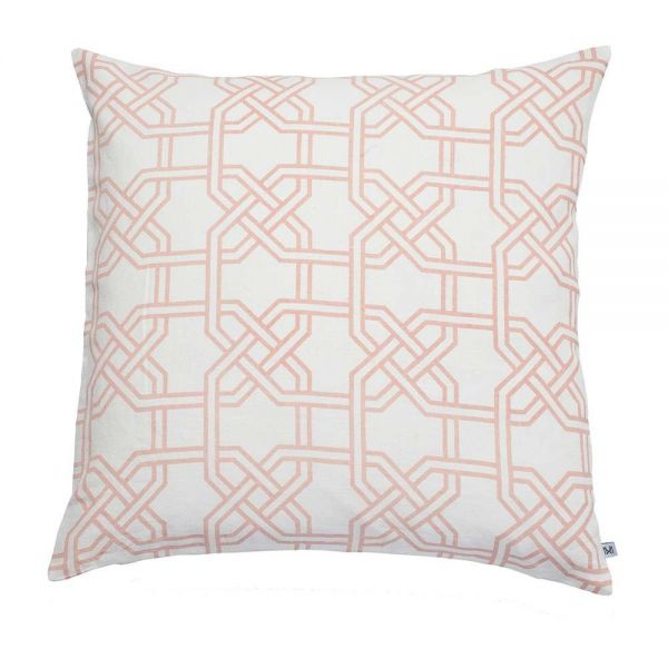 paris large cushion by Nina  kullberg pink