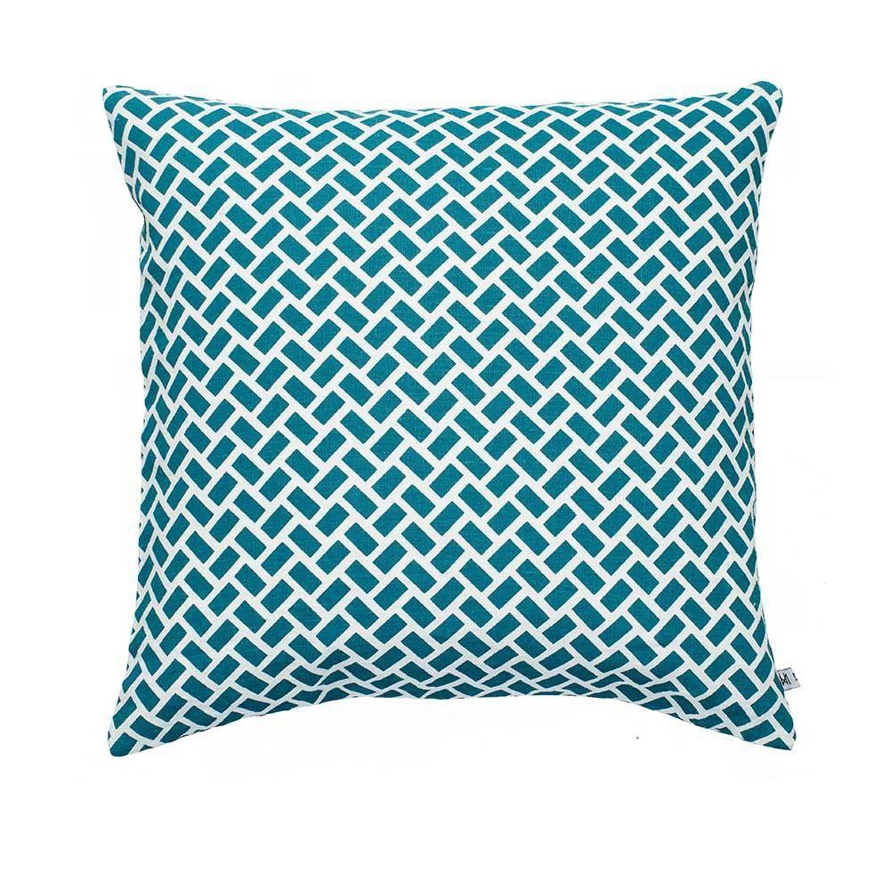 cancun cushion by Nina kullberg turquoise