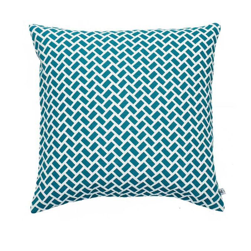 coussin cancun by nina kullberg  turquoise
