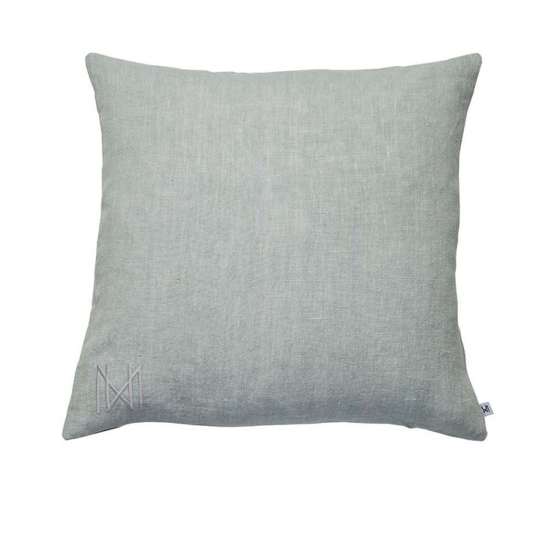 pearl blue cushion by Nina kullberg