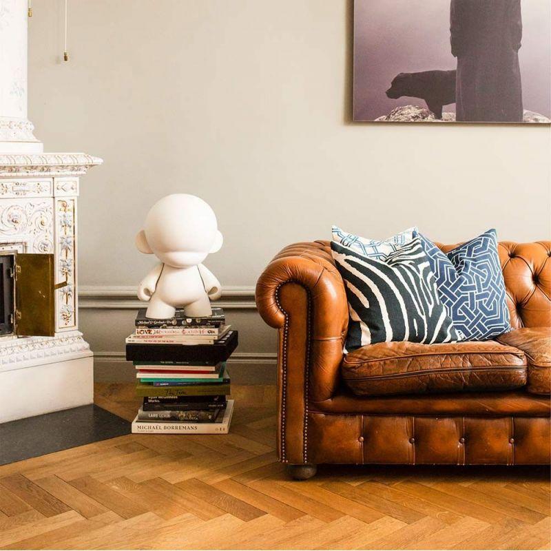 paris cushion styled in an interior by nina kullberg