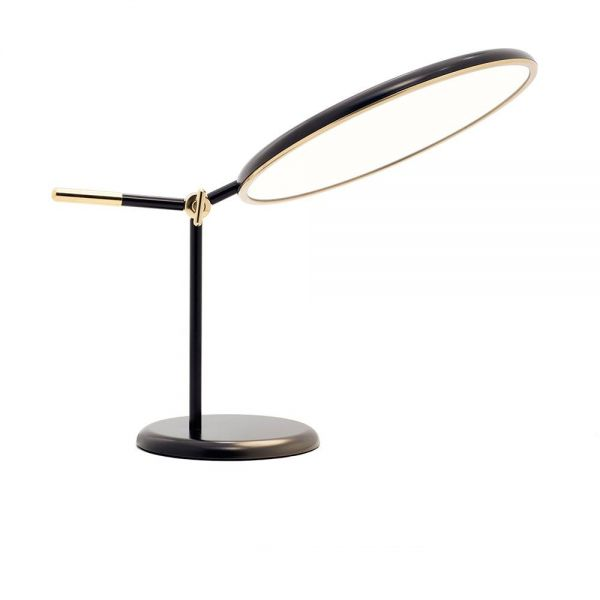 lampe de table full moon noire
