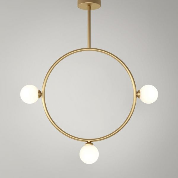 SUSPENSION CERCLE by Atelier Areti
