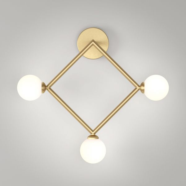 RHOMBUS WALL LIGHT by Atelier Areti