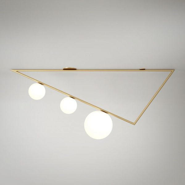 PLAFONNIER TRIANGLES 1,5M by Atelier Areti