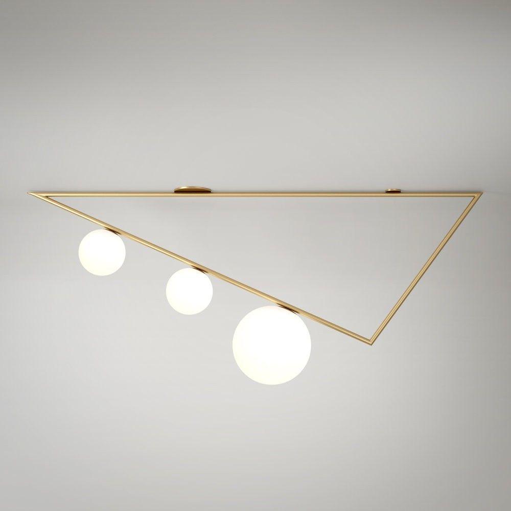 triangle 1,5M grey background by atelier Areti