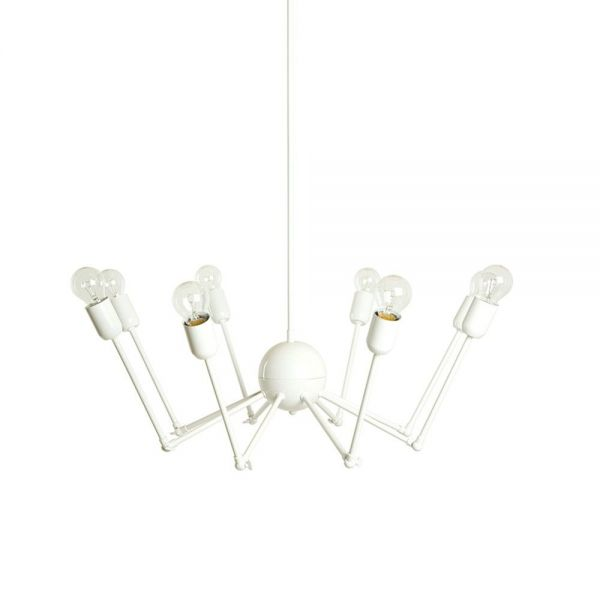 SUSPENSION OCTOPUS by De La Espada in white