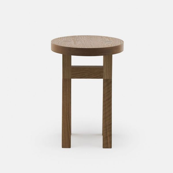 commune stool styled in an interior by neri & hu