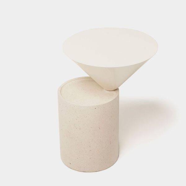 LAUREL SIDE TABLE by De La...