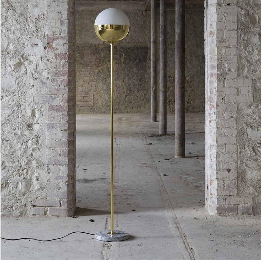 floor lamp in a corridor by magic circus