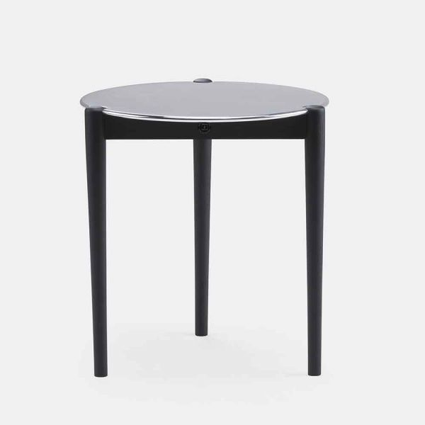 table d'appoint sidekicks noir by de la Espada