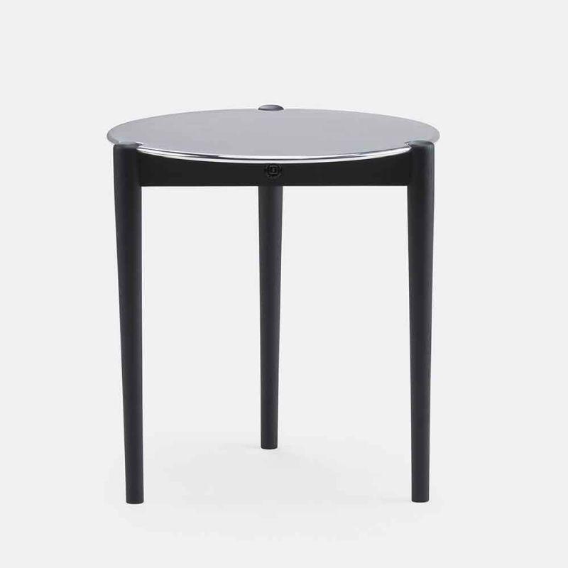 black sidekicks coffee table by de la espada