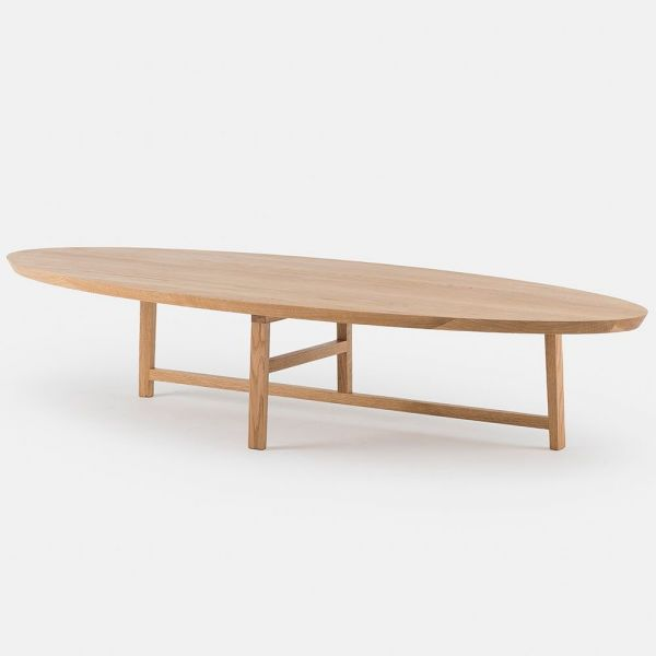 trio ovale table basse by de la espada
