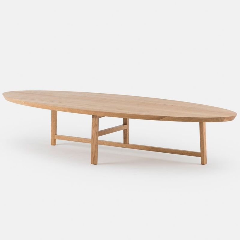coffee table trio oval by de la espada