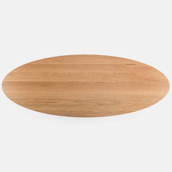 table basse trio ovale vue de haut by de la Espada