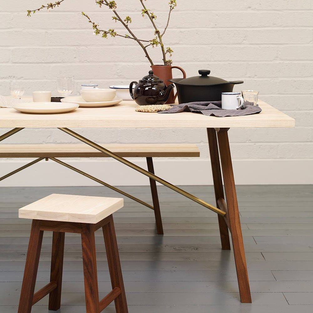 dining table 2 styled in an interior by another country