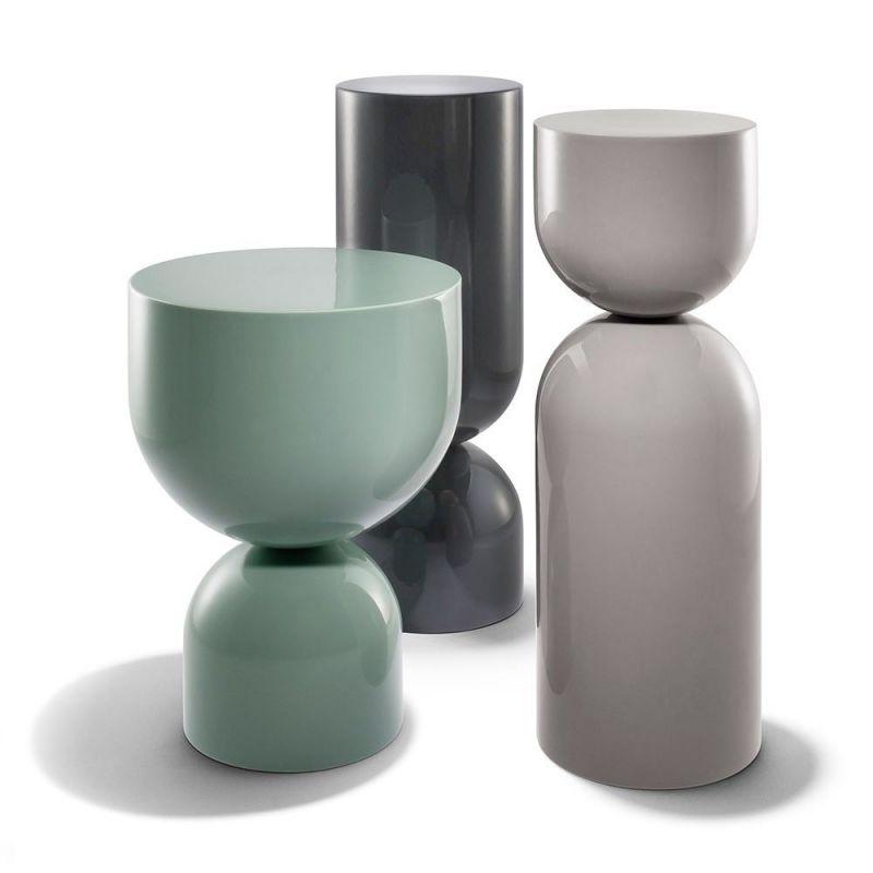 table d'appoint time piece céramique by sé