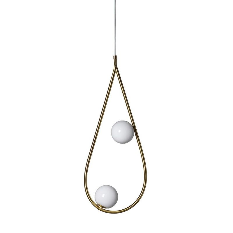 pearls pendant by pholc white background