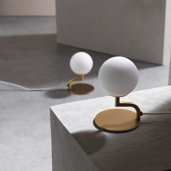 mobil table light styled in an interior by pholc