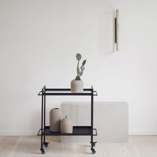 bauhaus trolley styled in an interior by Kristina Dam