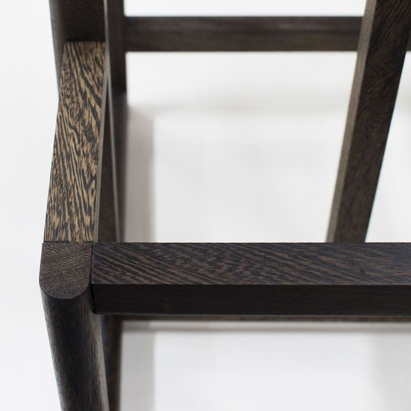 si stool styled in an interior by orn duvald