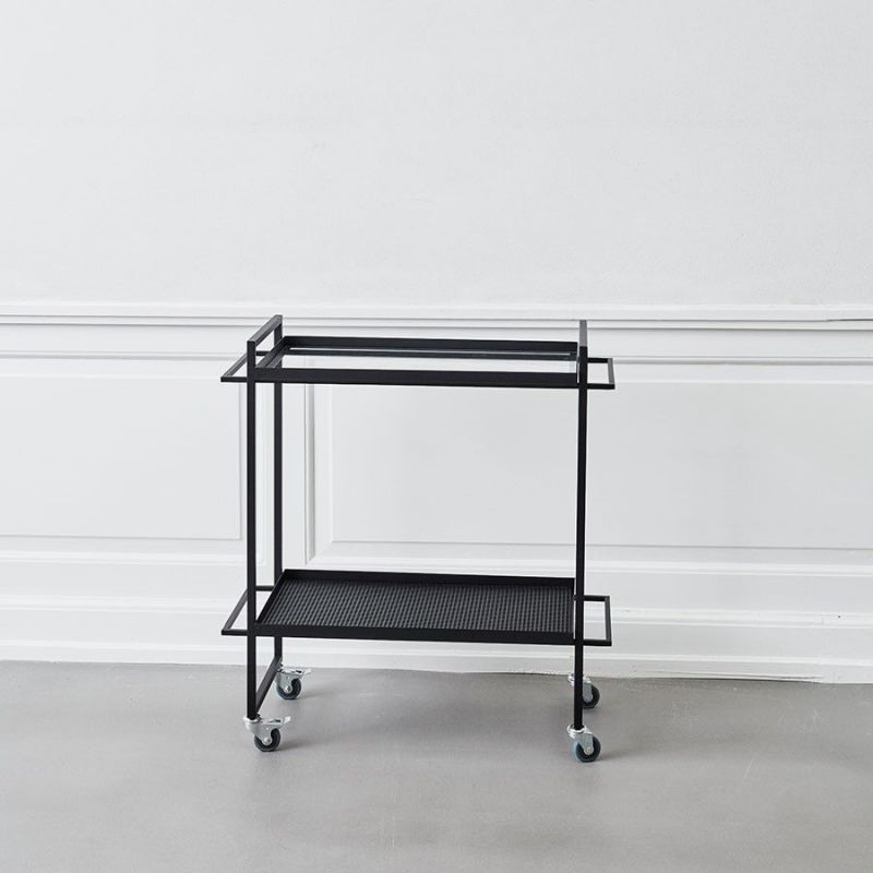 bauhaus trolley white background by Kristina Dam