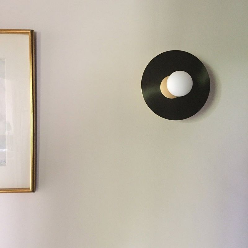 Disc and Sphere wall light Atelier Areti