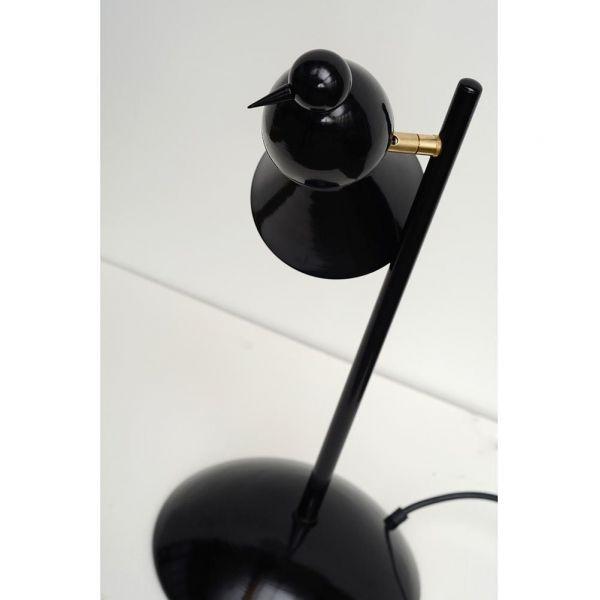alouette desk lamp black version by areti