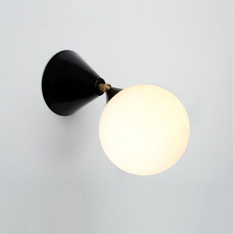 applique cone & ball noire