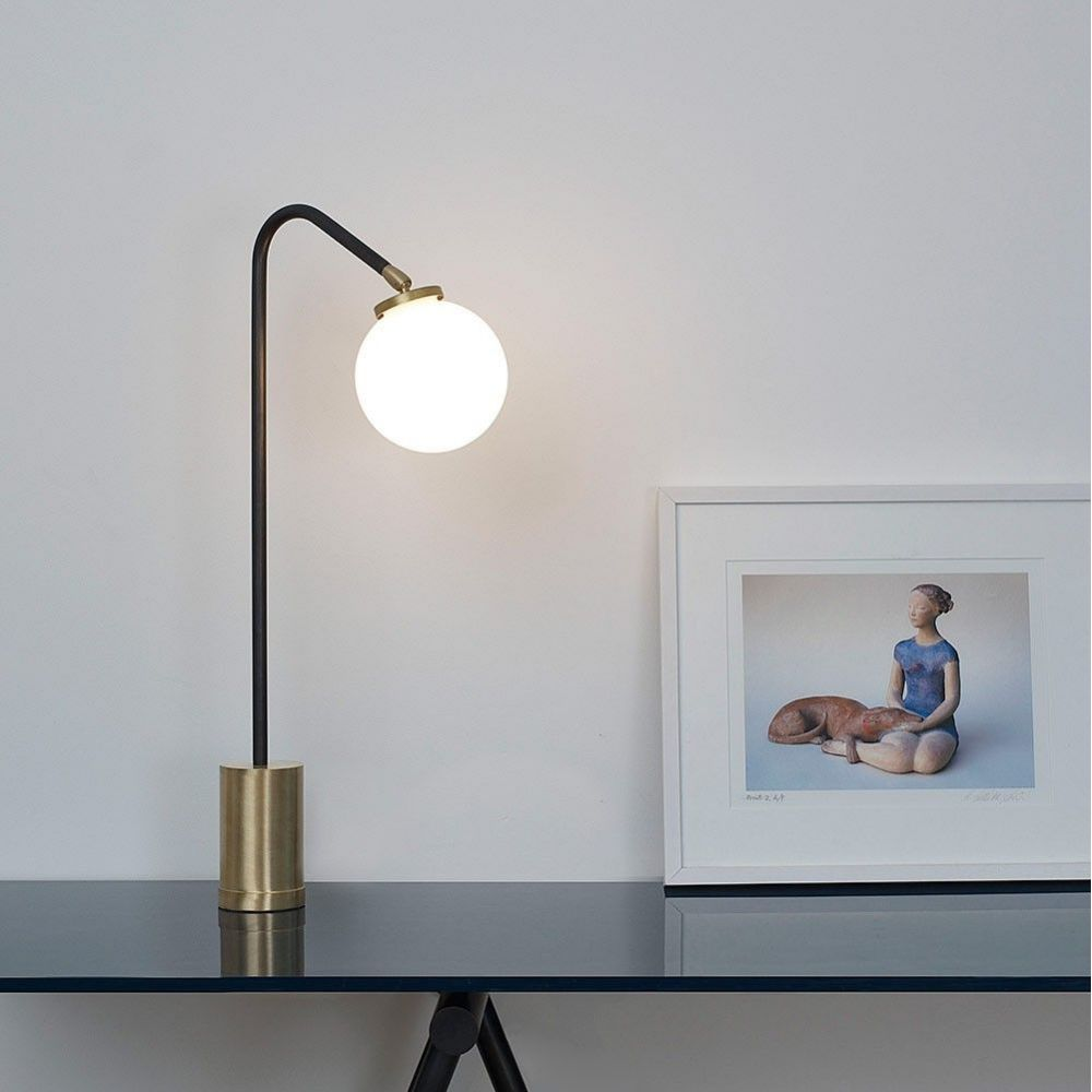 array table lamp styled in an interior by CTO lightning