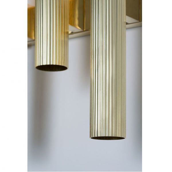 APPLIQUE TRIPTYCH by CTO Lighting fond gris