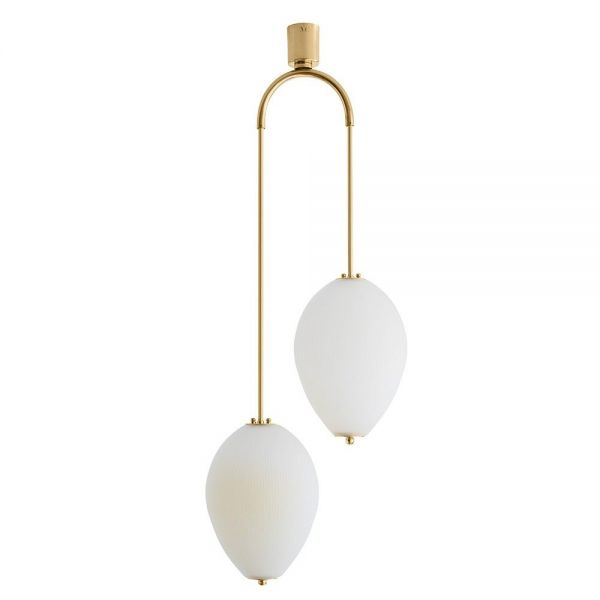 Double chandelier china 10 ivory