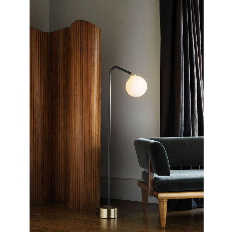 Oscar floor light styled in an interior by cto lightning