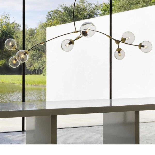 SUSPENSION IVY 8 by CTO Lighting