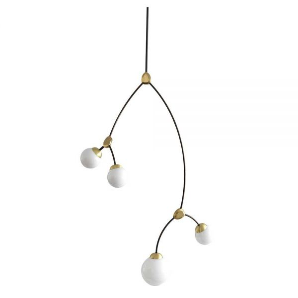 IVY VERTICAL 4 PENDANT by CTO Lighting