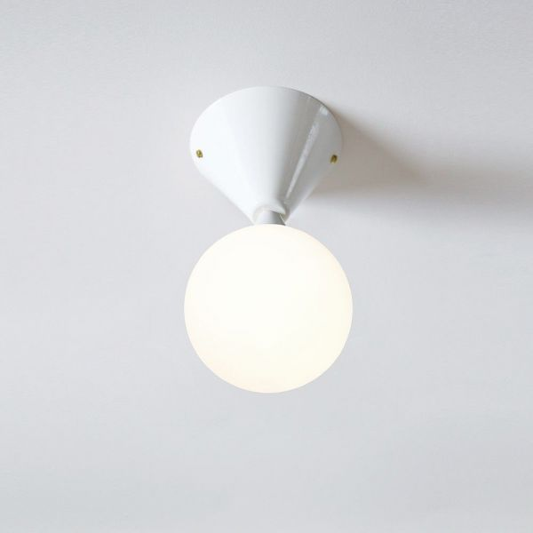cone &sphere ceiling light by areti
