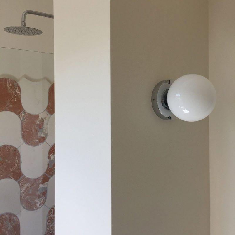 Chrome Wall Light Pedret
