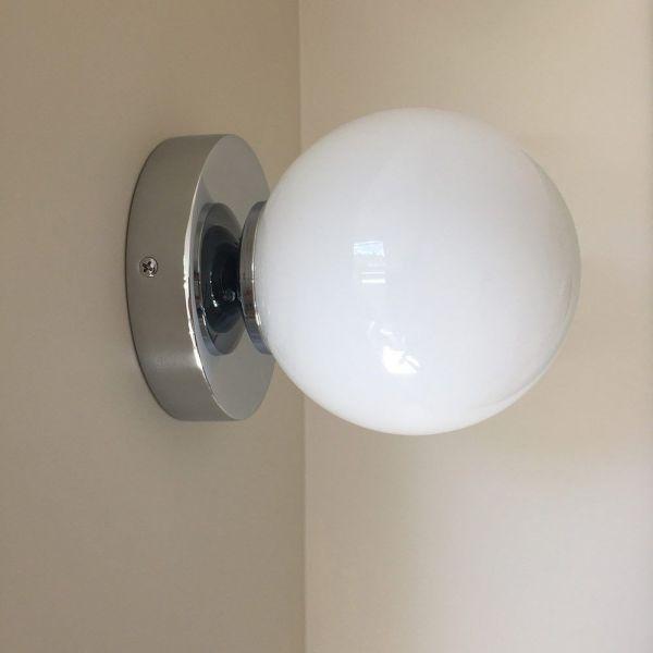 Chrome Wall Light