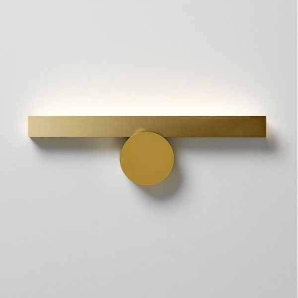 calee wall light styled in an interior by CVL luminaires