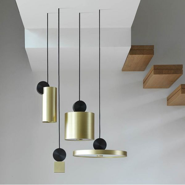 The various pendants in the Calée collection by CVL Luminaires