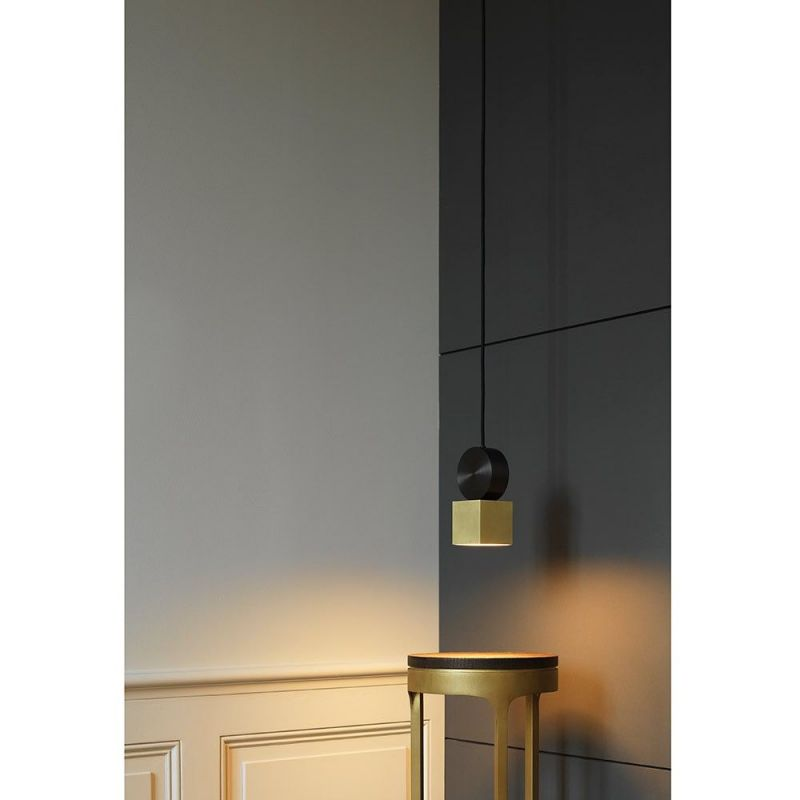 Calée Pendant CVL Luminaires styled in living room