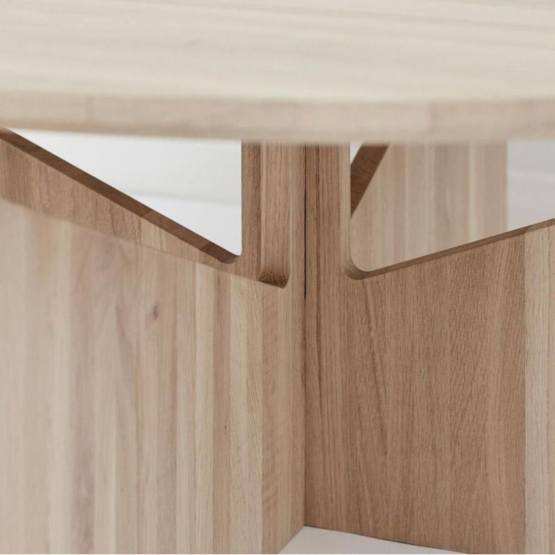 xl table styled in an interior by Kristina Dam