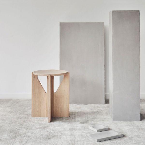Kristina Dam stool in oak