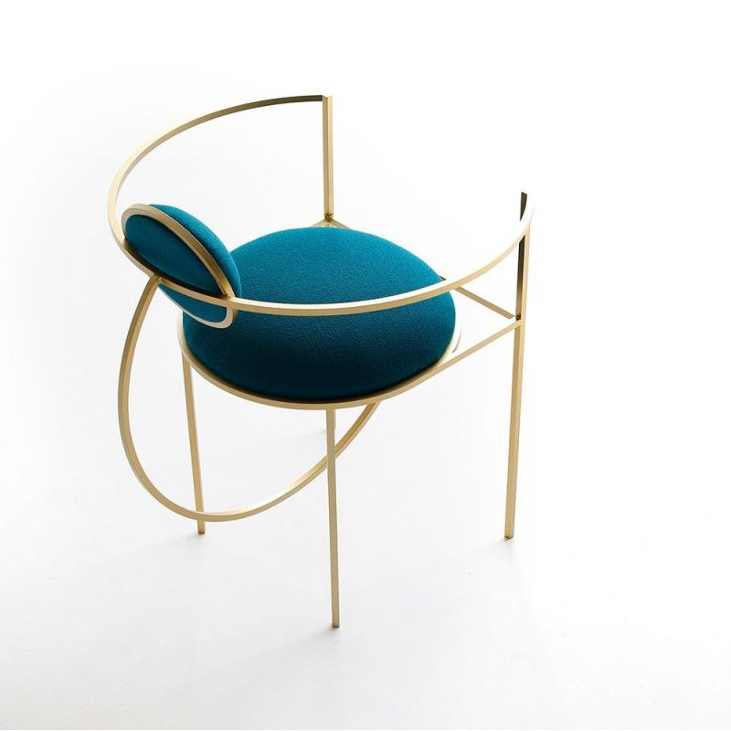 lunar chair styled in an interior by bohinc studio