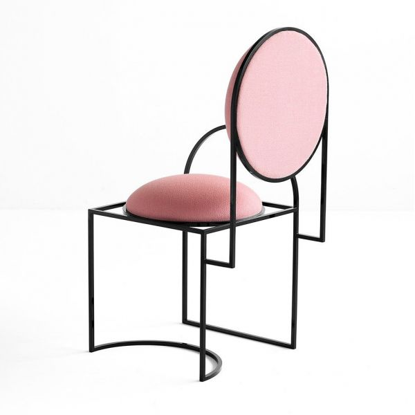 chaise solar rose by bohinc studio