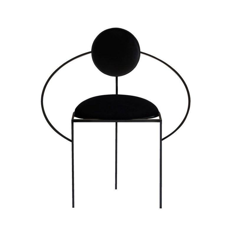 chaise orbit armchair by bohinc studio