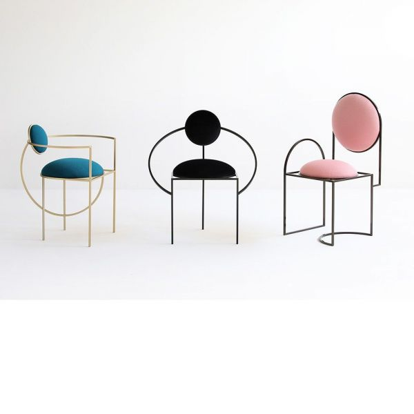 3 chaises orbit armchair by bohinc studio